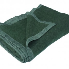 French Wool Army Blanket