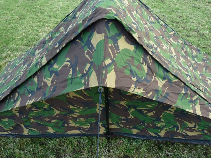 Dutch Army Woodland Camouflage Tent Allpoints Outdoors